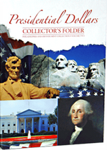 Whitman Folder - Presidential Dollars Four Panel 2012-2016 P&D-Vol.2