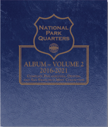 Whitman Album #3059- National Park Quarters Vol.2 2016-2021 P,D&S