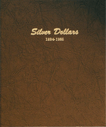 Dansco Album #7174 - Silver Dollars 1894 - 1935