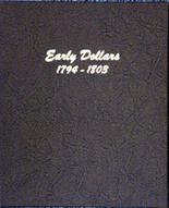 Dansco Album #6170 - Early Dollars 1794 - 1803