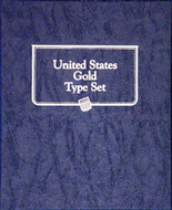 Whitman Album #9170 - U.S. Gold Type Set