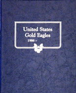 Whitman Album #9173 - U.S. Gold Eagles 1986-1995