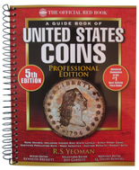 Red Book Price Guide of United States Coins-Professional Edition - 2014-5th Edition