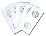 Cowens Cardboard 2x2s for Nickels - Pack of 100