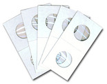 Cowens Cardboard 2x2s for Half Dollars - Pack of 100