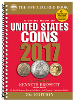 2017 Red Book Price Guide of United States Coins -Spiral