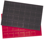 Horizontal Display Tray for 2x2s - Red