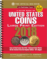 2018 Red Book Price Guide of United States Coins -Large Print-Spiral