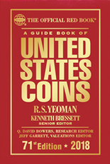 2018 Red Book Price Guide of United States Coins -Hardcover