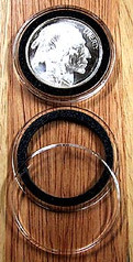 """AirTite Ring Fit 50mm Model Y  - 2"""" Coins"""