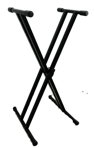 Travel Sonic KBS218 Double X Keyboard/Mixer Stand
