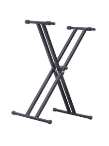 TRAVEL SONIC DOUBLE X KEYBOARD STAND (KBS219BK)