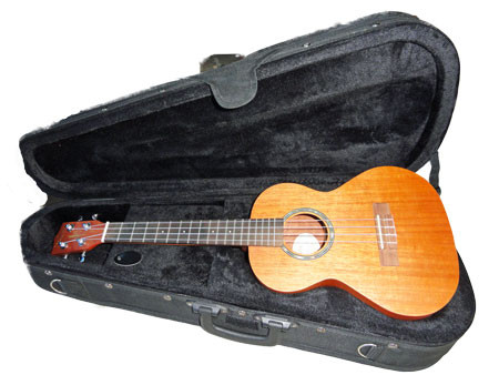 Corbin UKT500M (solid mahogany top) Includes Case