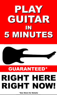 WWW.Guitarin5.com is FREE, FUN, EASY & EFFECTIVE!  Every music dealer and teacher can learn this simple teaching tool to expand AND grow their customer and student base and most important, share the lifetime joy of playing a musical instrument with almost anyone.