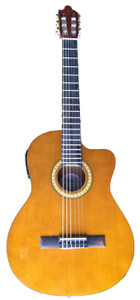 Corbin Woodville Nylon String Acoustic Electric with Cutaway