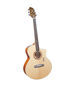 Corbin International Solid Top Series Dreadnought Cutway
