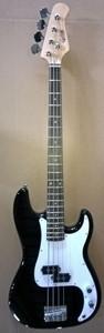 Corbin EBP210 BK P Style Electric Bass