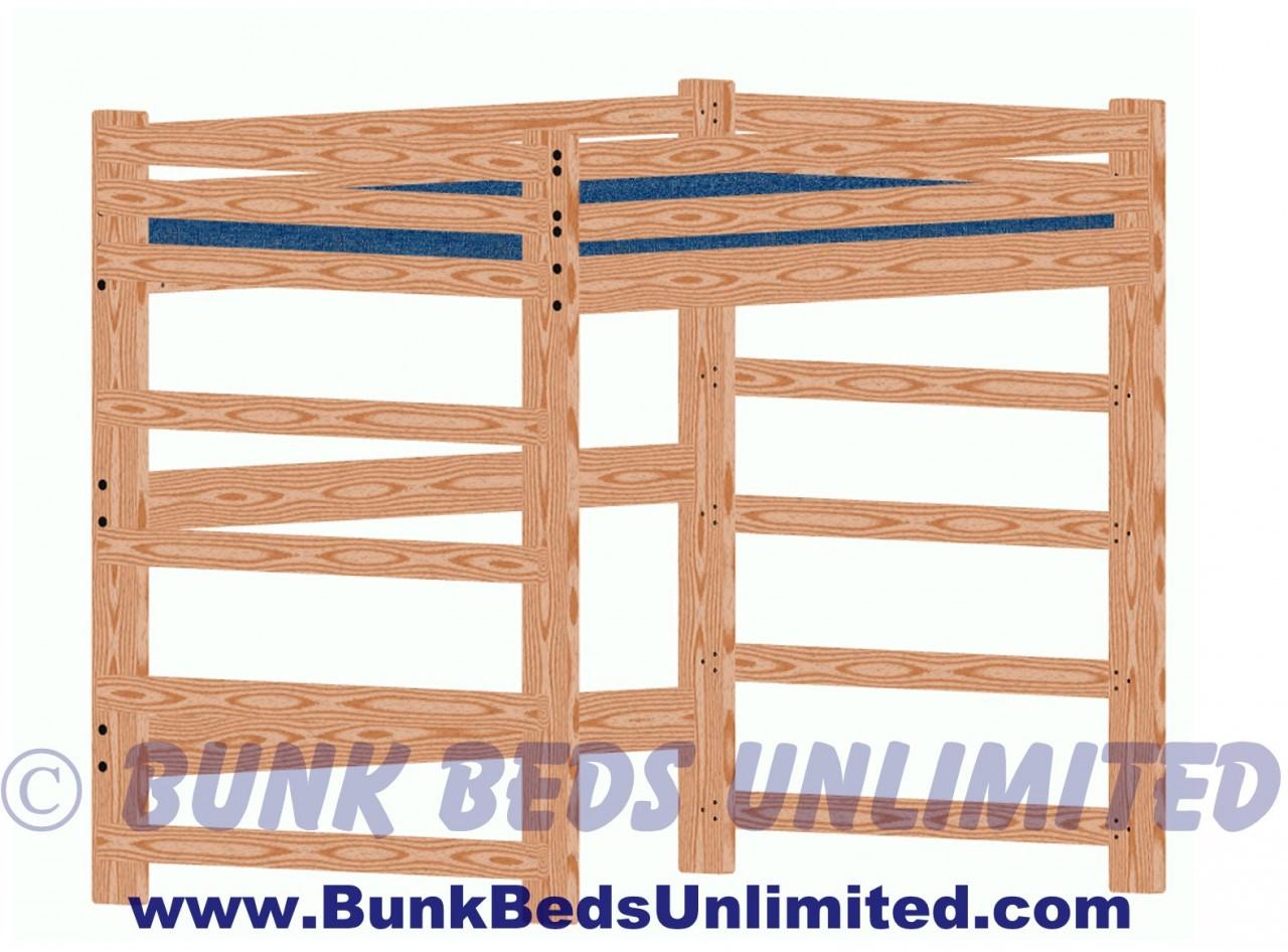 hardware kit for loft bed full size tall. Black Bedroom Furniture Sets. Home Design Ideas