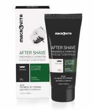 Macrovita After Shave Gel with Cotton and Hop