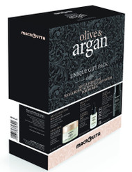 Hyaluronic Acid Skin Care System Olive & Argan Gift Pack For Women