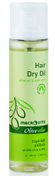 Hair Dry Oil with olive oil and aloe vera