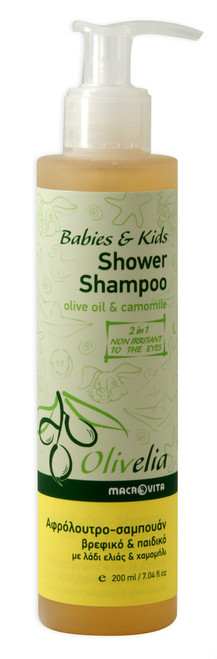 Olivelia Babies & Kids Shower Shampoo