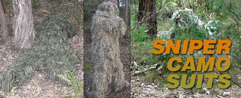 Combat Australia Sniper Camo Suits