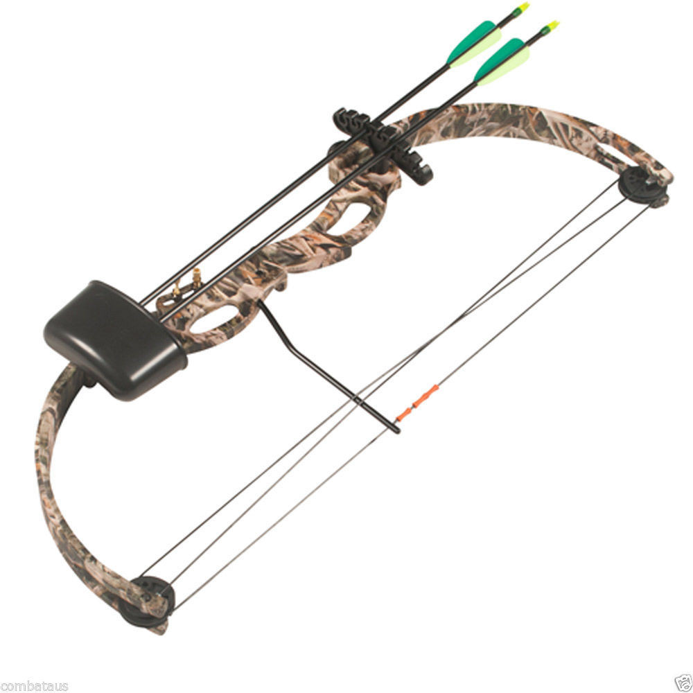 Young Atunga Little Hunter Kids Bow Camo