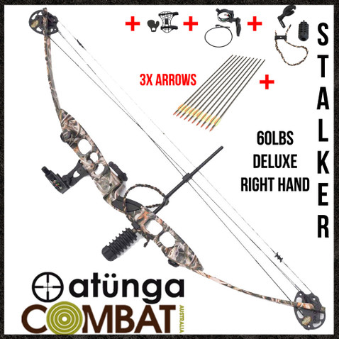 Bow will come with 3 arrows and all other options in the photo but will not be installed.