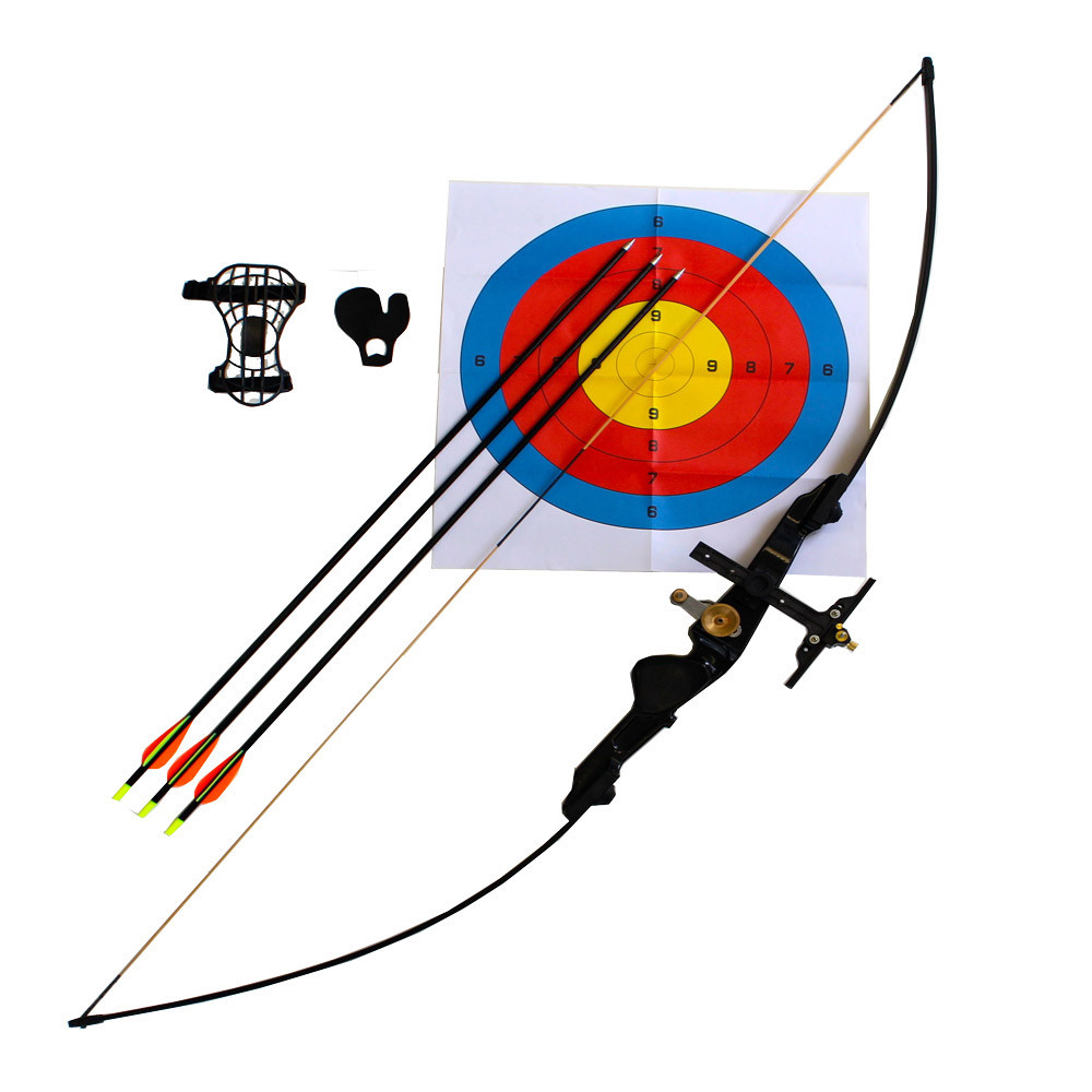 Right Handed Longbow From 26lbs to 48lbs