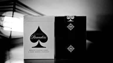 Madison Rounders playing cards - BLACK