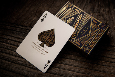 Monarchs Playing Cards. Available in Australia from http://shop.kardsgeek.com