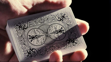 White Ghost playing cards