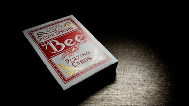 Red Bee Titanium Edition Playing Cards