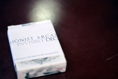 White Arcane Invisible Deck. Now available in Australia from KardsGeek http://shop.kardsgeek.com