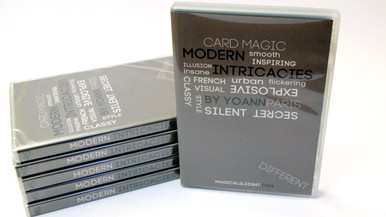 Modern Intricacies DVD by Magical Sleight, A unique take on modern card-magic : some could call these routines Magical flourishes, these are tricks that speak for themselves.