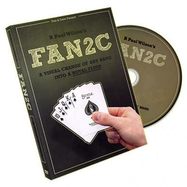 FAN2C DVD by Paul Wilson. Learn magic card tricks. Buy it in Australia from http://shop.kardsgeek.com