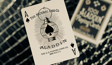 White Aladdin Deck by The Blue Crown
