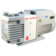 Edwards RV8 Vacuum Pump  Quiet Operation Various Applications Good Pumping Speed Easy Servicing Long Life