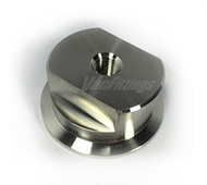 "NW 40 to 1/8"" Female NPT Stainless Steel Adapter"