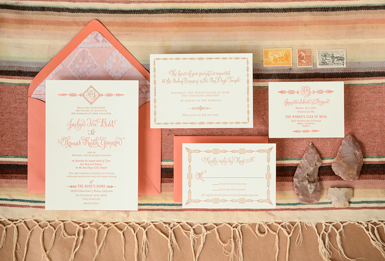 Southwestern Bespoke Invitation Suite