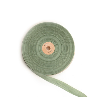 Tailor's Ribbon, Metal Green