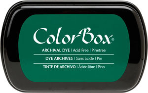 Color Box Stamp Pad, Archival, Pinetree