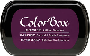 Color Box Stamp Pad, Archival, Gooseberry