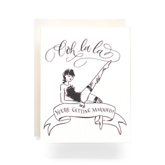 OOH LA LA Greeting Card