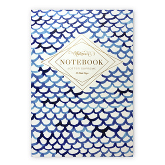 Jotter Supreme, Indigo Fish Scales