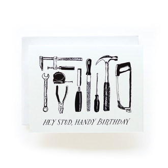 Handy Birthday Greeting Card