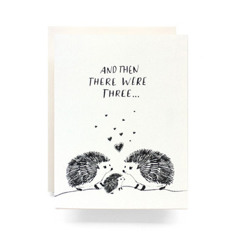 Baby Hedgehog Greeting Card