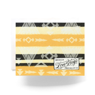 Camp Blanket Love Greeting Card
