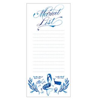 Mermaid Market List Fridge Pad